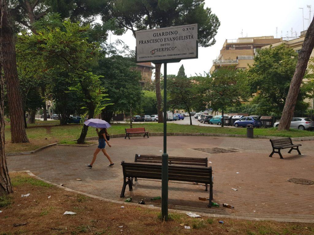 Il giardino dedicato a Serpico