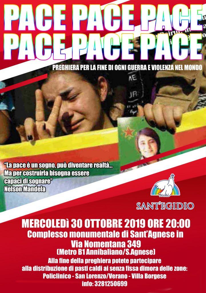 La locandina che annuncia l'iniziativa benefica in programma il 30 ottobre