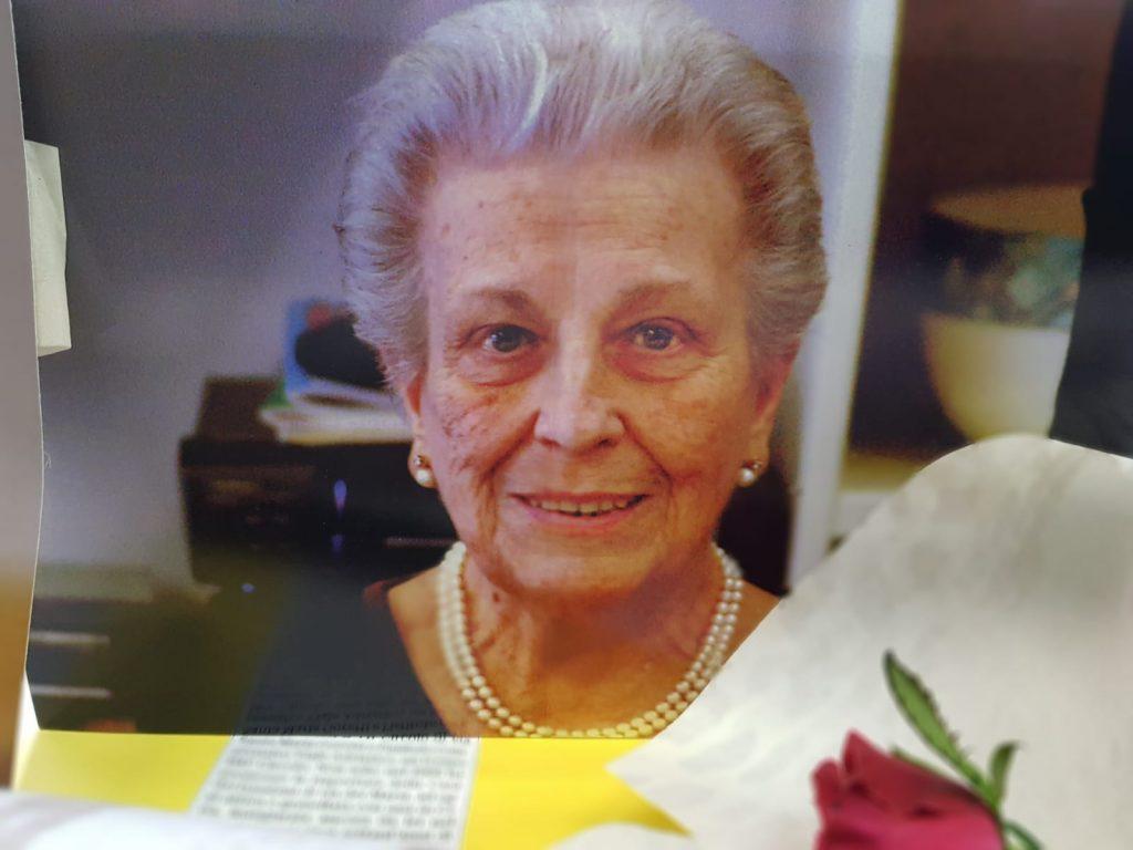 Una foto dell'ex allieva di Maria Montessori