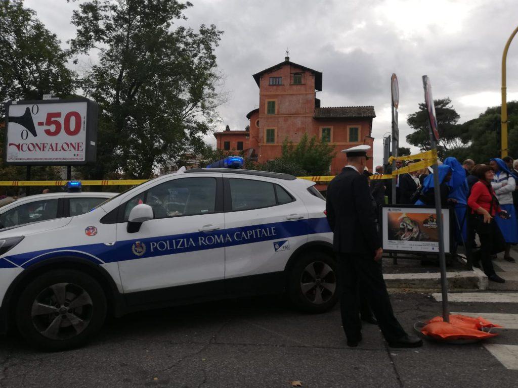 Imponenti le misure di sicurezza in attesa dell'arrivo del Papa