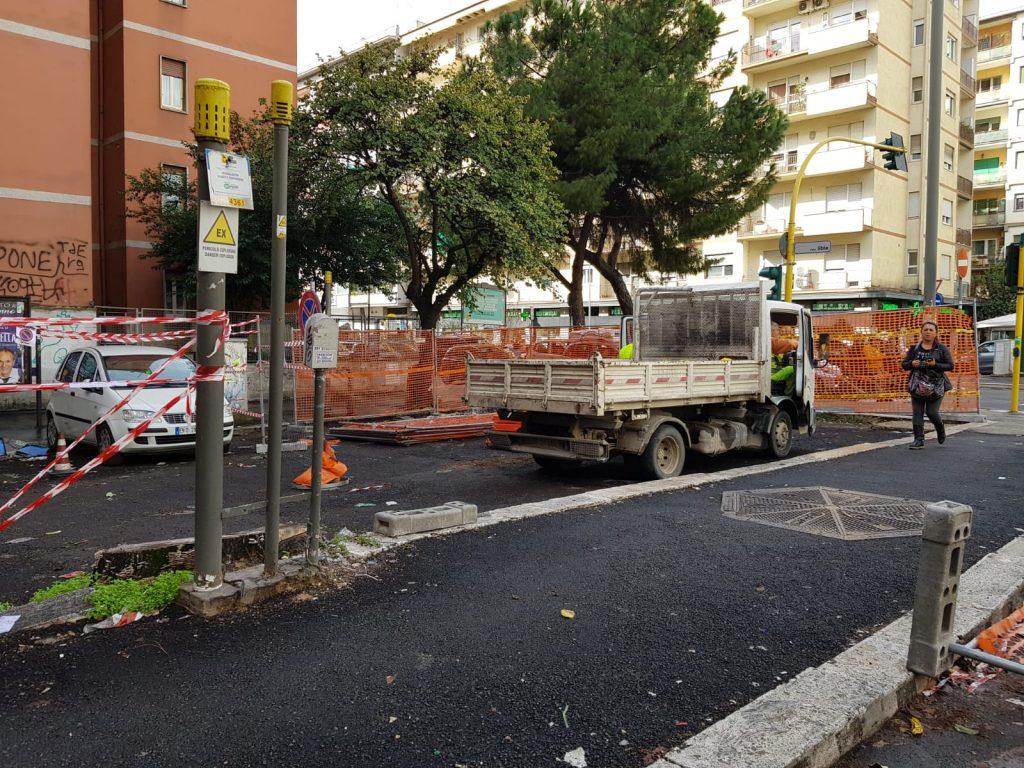 L'area interessata dai lavori è la stessa del cantiere rimosso lo scorso luglio