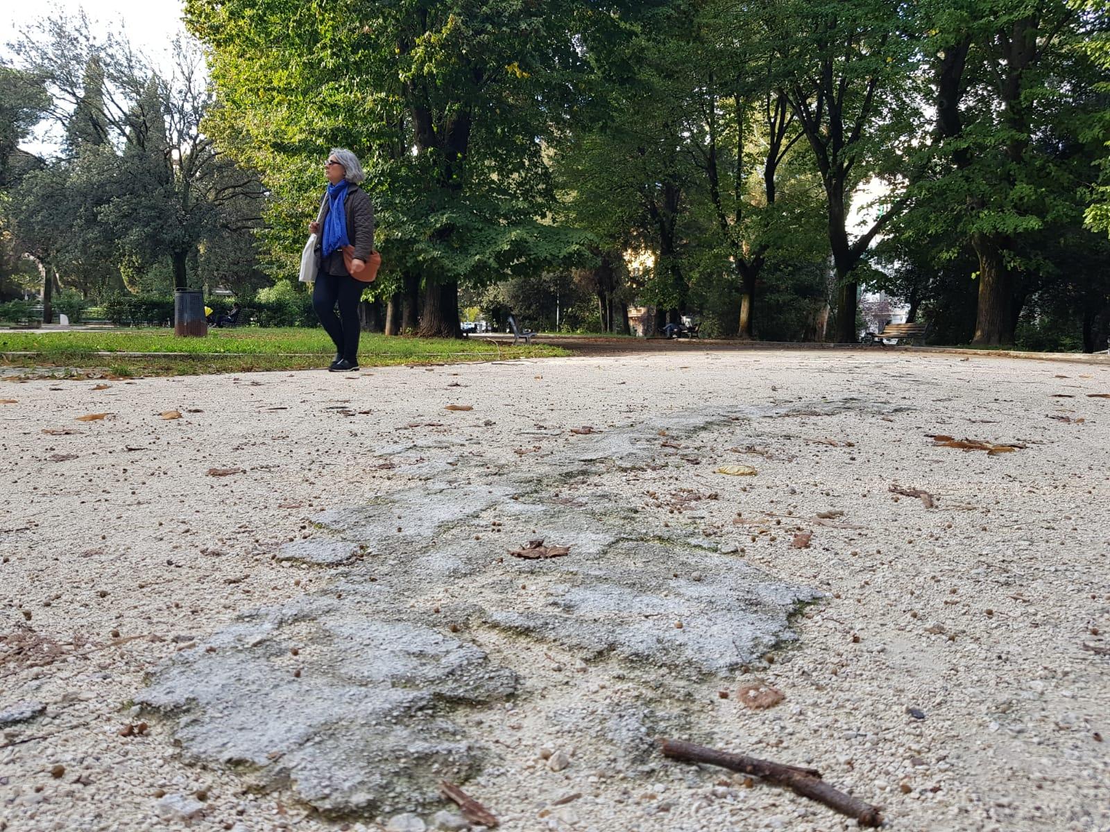 lavori parco nemorense