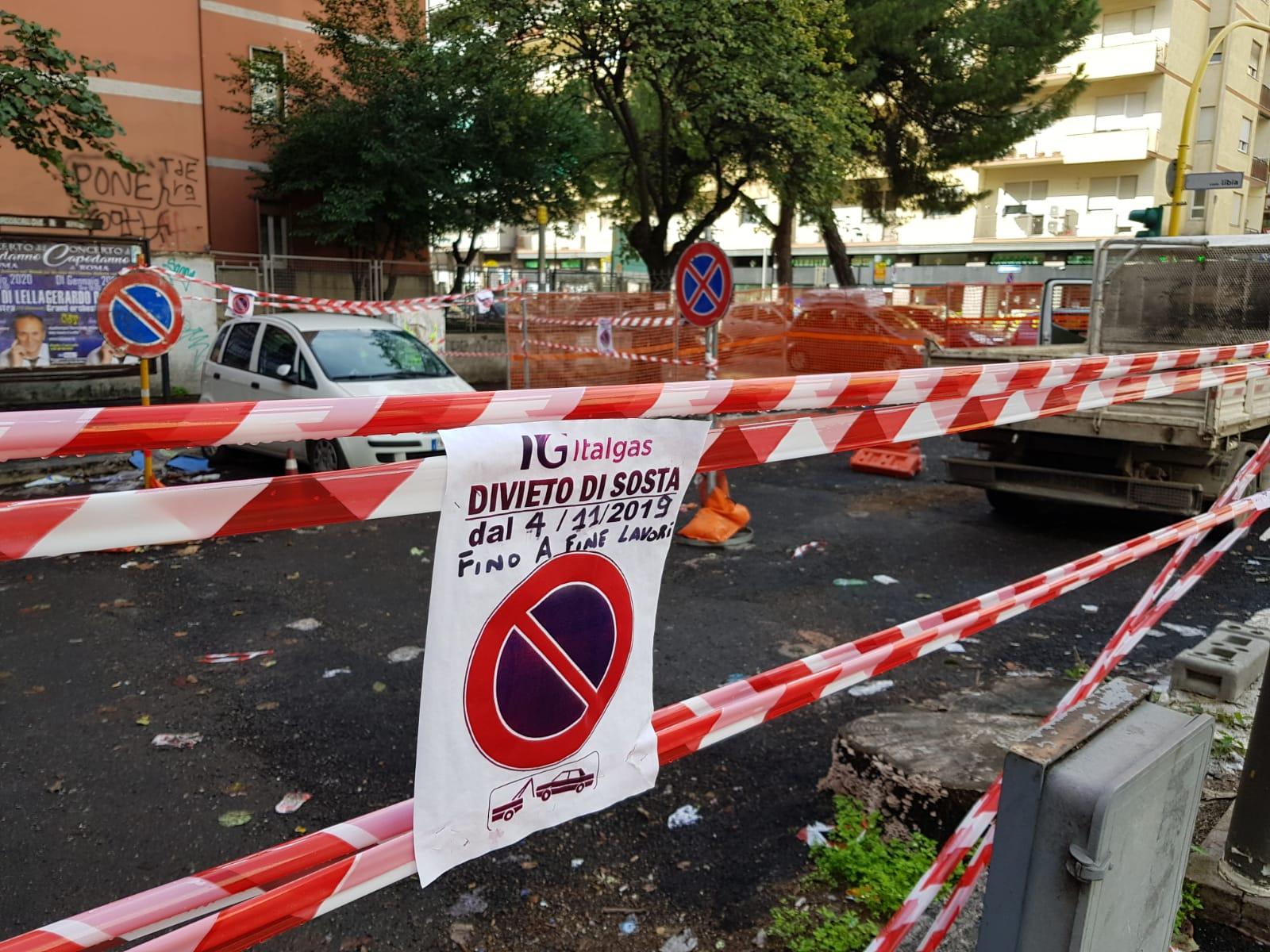 cantiere italgas piazza gondar