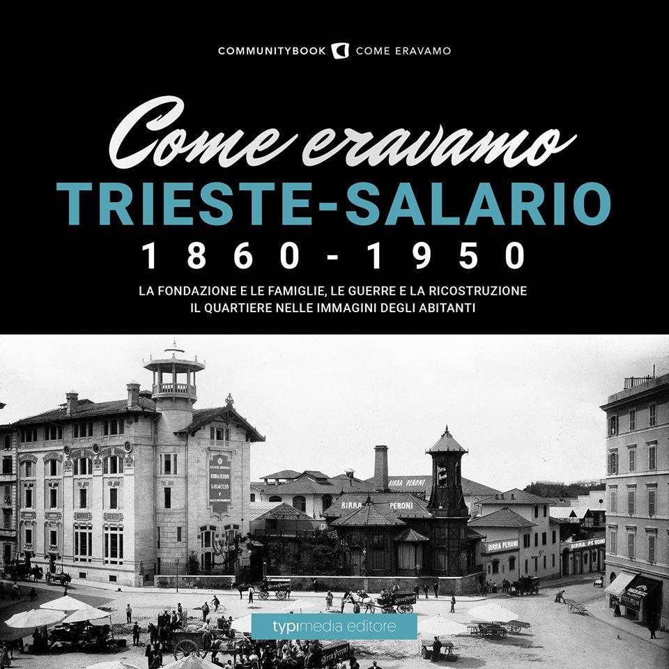"""La copertina del libro """"Come eravamo Trieste-Salario 1860-1950"""""""