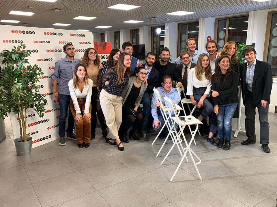 Il team di The Post Internazionale, testata diretta da Giulio Gambino