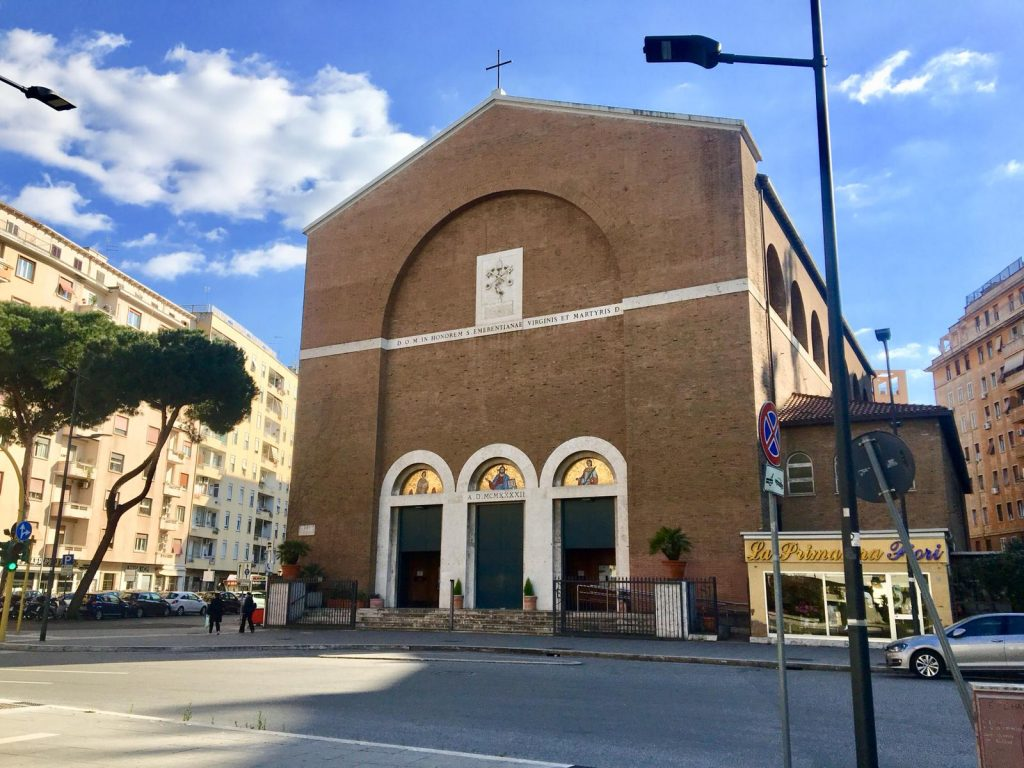 La chiesa di Santa Emerenziana