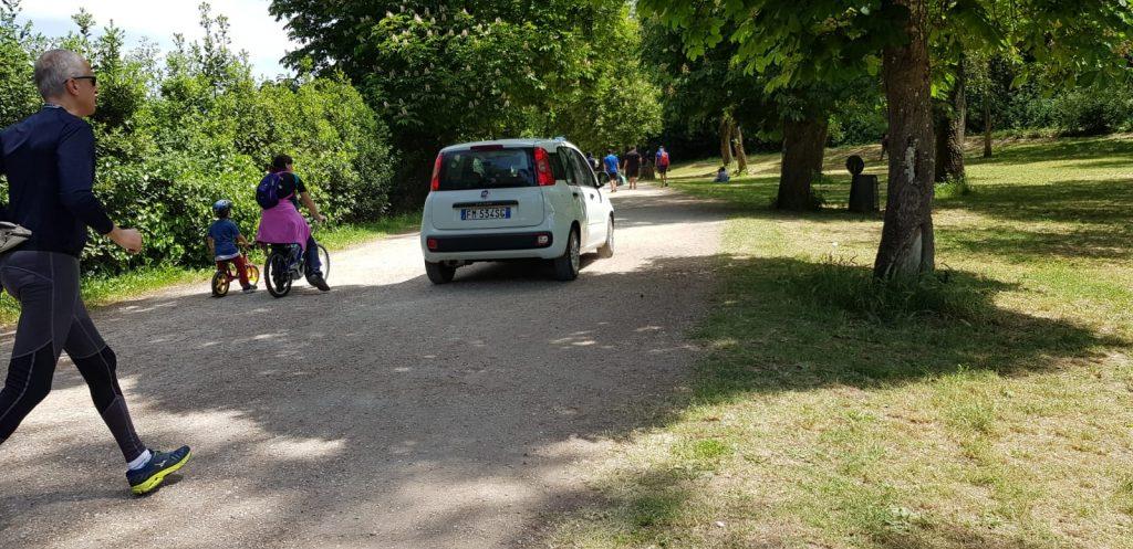 La Polizia locale a Villa Ada