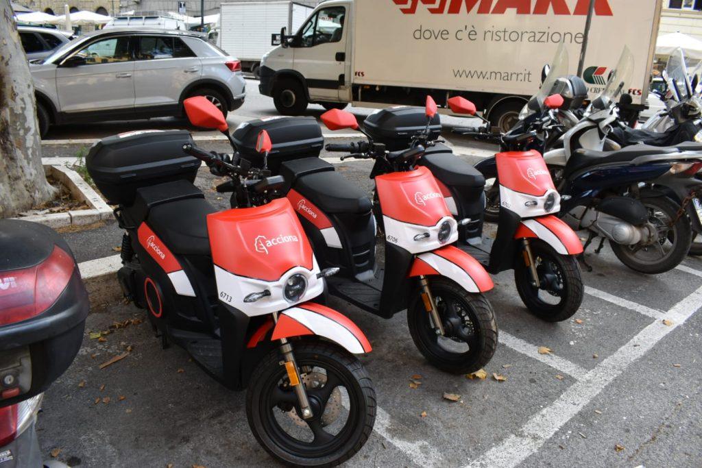 Gli scooter Acciona