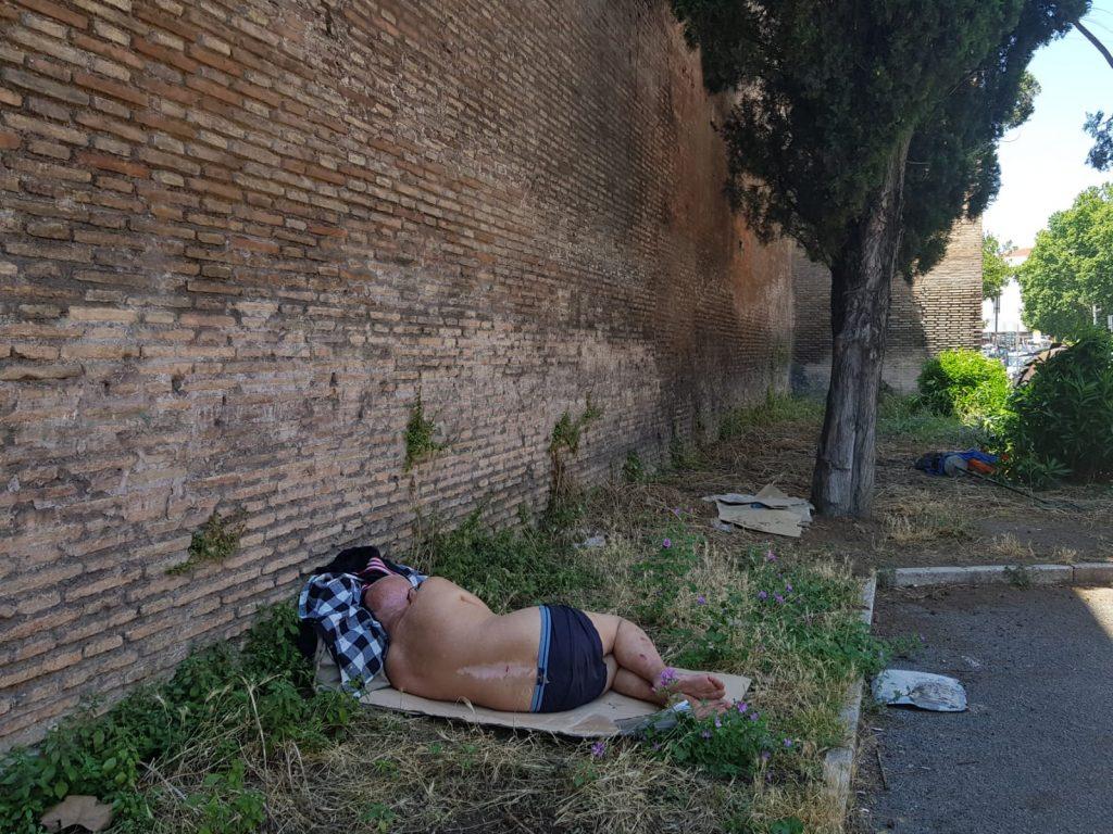 La situazione sotto alle Mura Aureliane