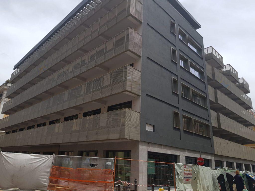 L'edificio restaurato della Cassa depositi e prestiti