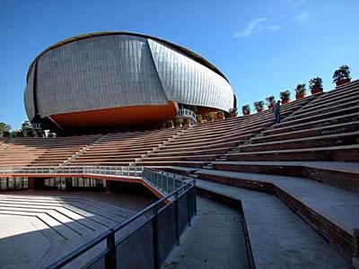 L'esterno dell'Auditorium