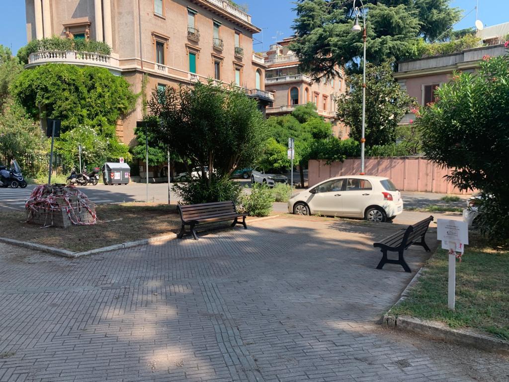 Piazza Trento riqualificata dai comitati