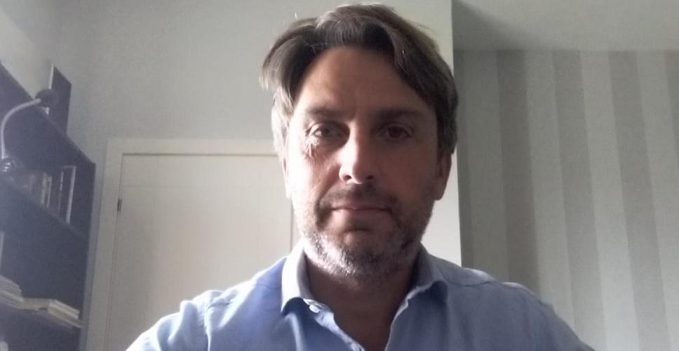 Pierluca Sforza, il gestore e uno dei soci del cinema Lux di via Massaciuccoli
