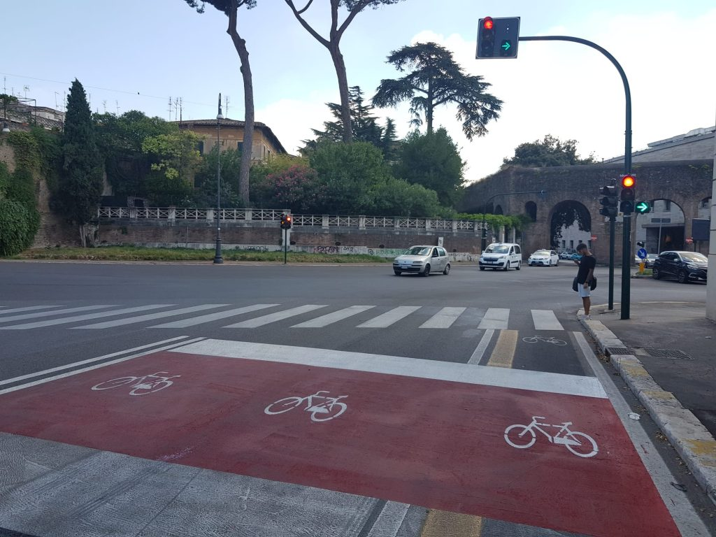 La nuova bike lane