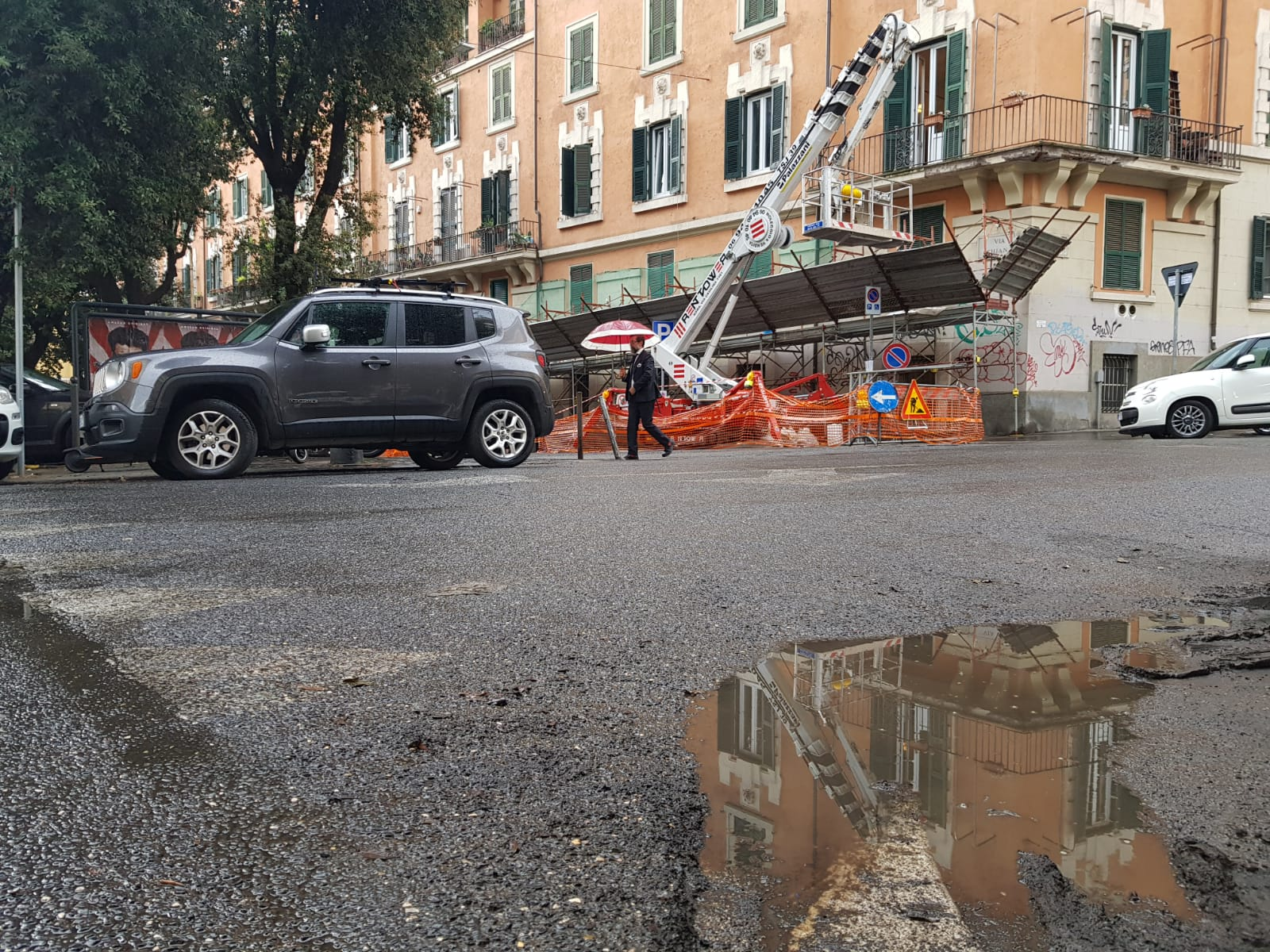 Maltempo Trieste Salario via Chiana
