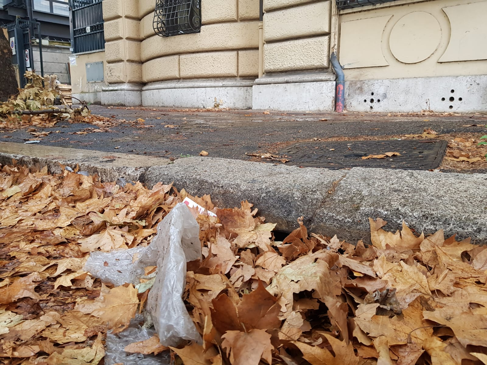 Maltempo Trieste Salario via Bisagno