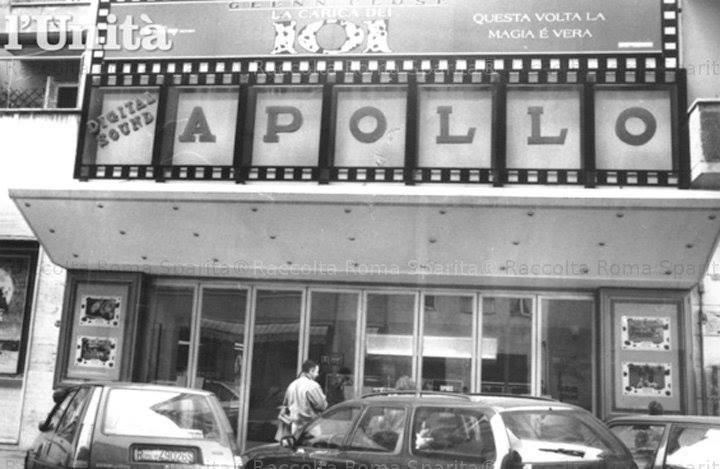 L'ex cinema Apollo