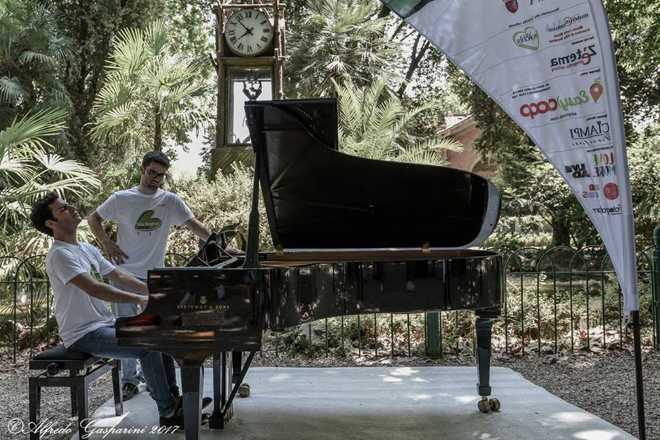 """Villa Borghese Piano Day"""