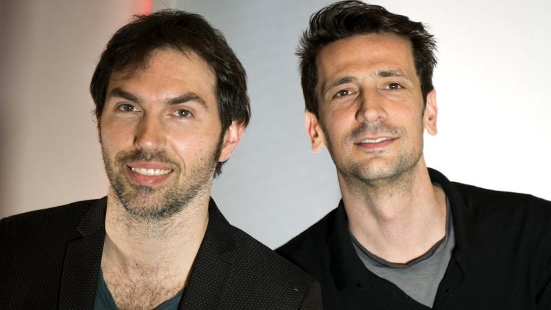 Gli Zero Assoluto, il gruppo musicale pop italiano formato da Thomas De Gasperi e Matteo Maffucci, cresciuti nel Trieste-Salario