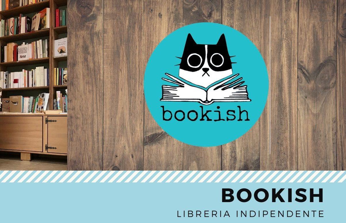 La locandina della libreria Bookish
