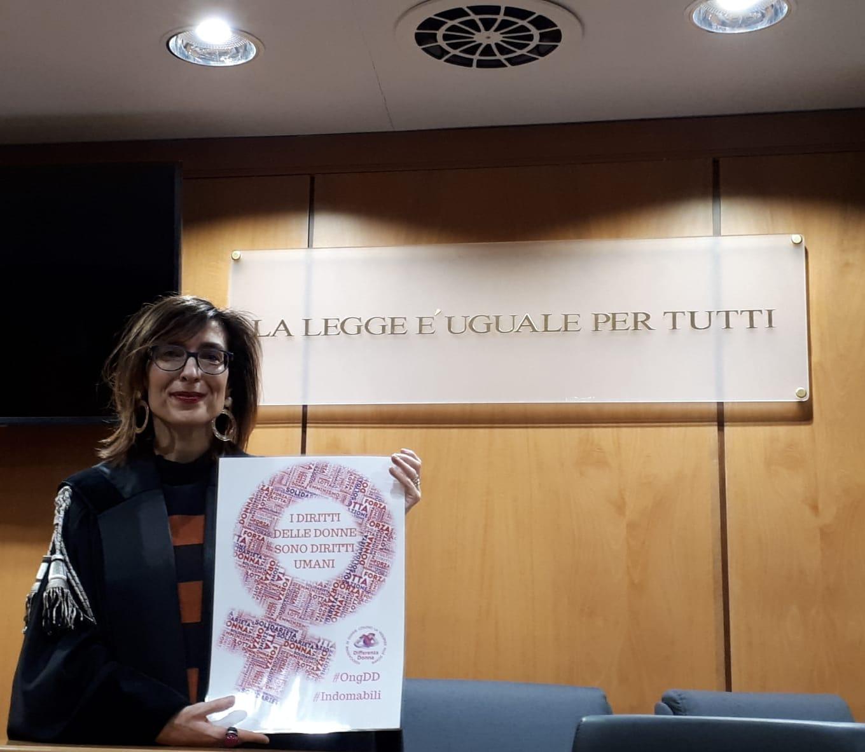 Marilia Tiso, avvocata attiva per la difesa delle donne