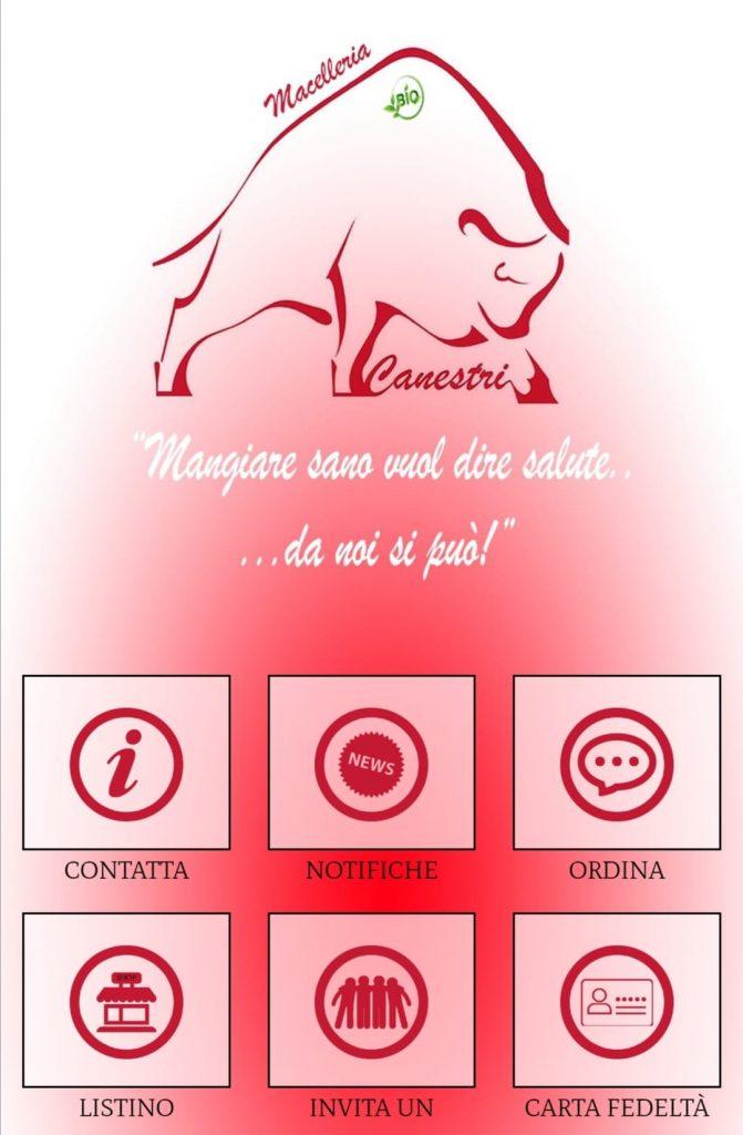 app macelleria canestri