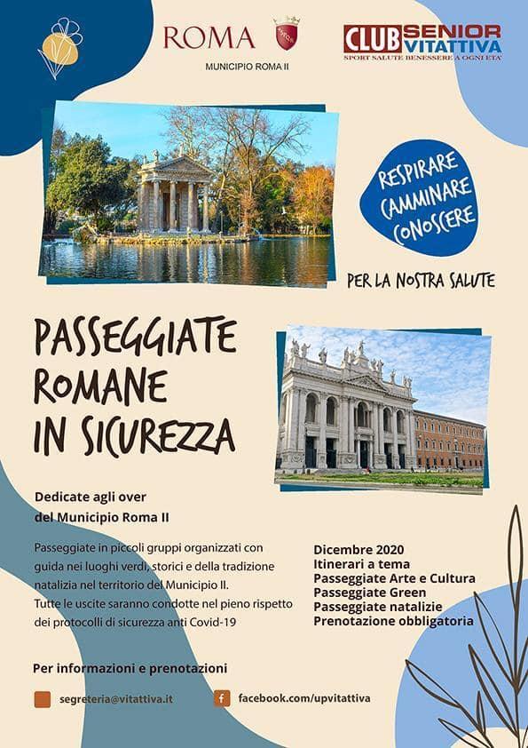 Passeggiate romane in sicurezza