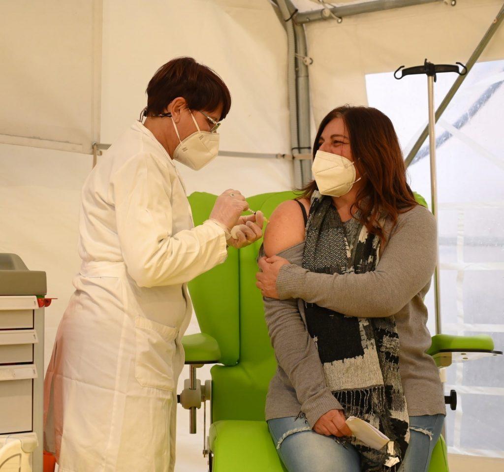 Asl Roma 1, prime dosi di vaccino