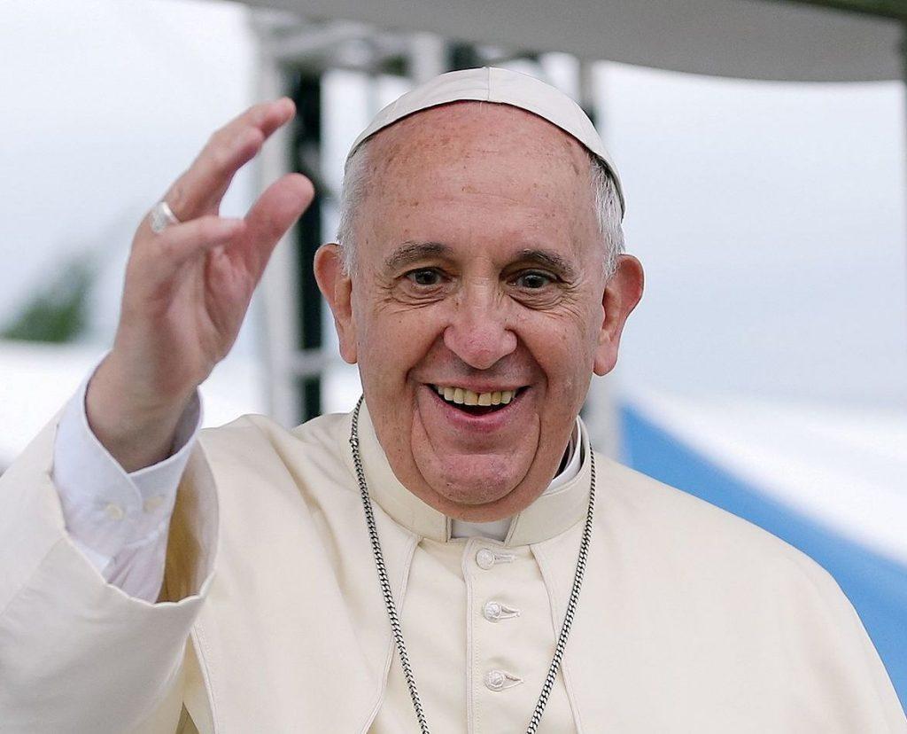 Papa Francesco (foto da Wikipedia)
