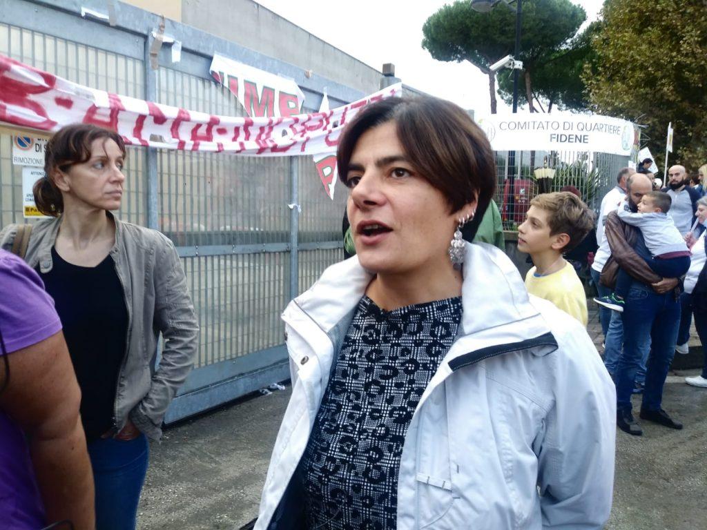La presidente del II Municipio, Francesca del Bello