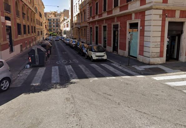 L'incrocio tra via Reggio Emilia e via Alessandria