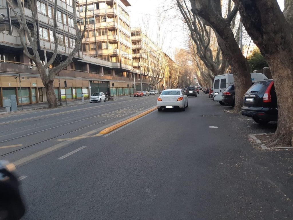 Viale Regina Margherita (dal gruppo Facebook Parioli&dintorni)