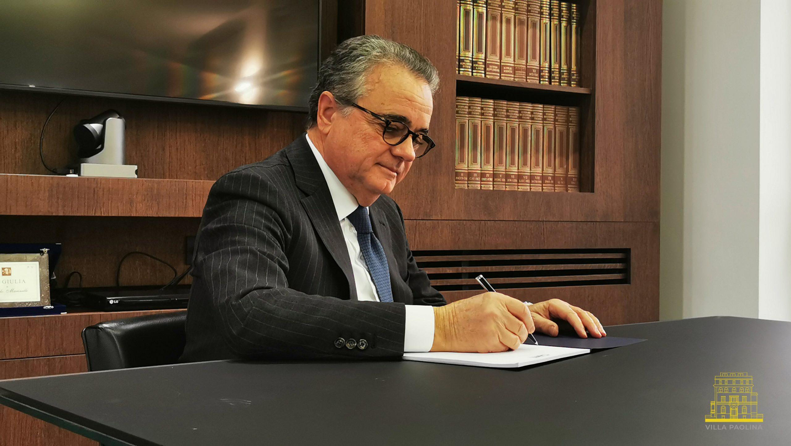 L'Ingegnere Angelo Marinelli