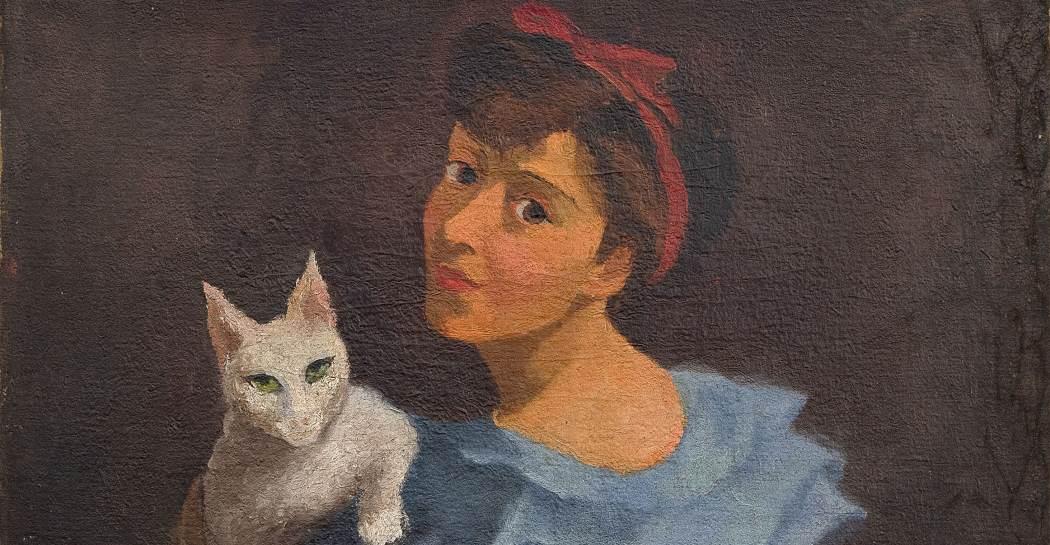 Una delle opere di  Katy Castellucci esposte nella mostra