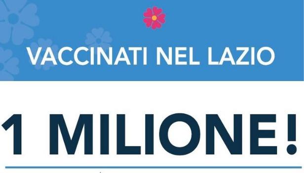 Un milione di vaccinati
