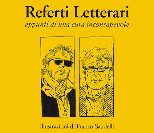 """La copertina del libro """"Referti letterari"""""""
