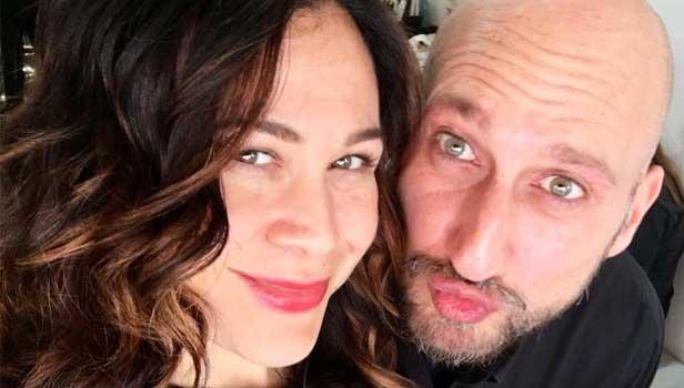 Antonio Morici con Valeria Graci