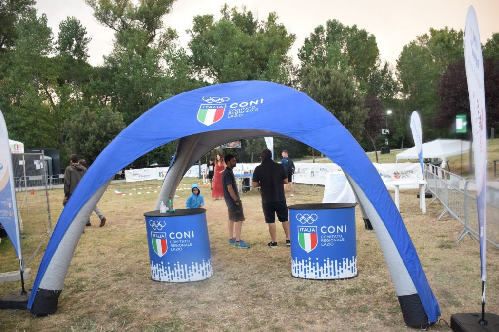 Area sport Coni Lazio al CineVIllage