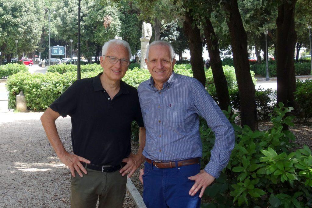 Filippo La Porta e Roberto Ippolito