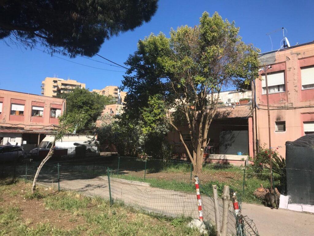 L'ex istituto a Primavalle