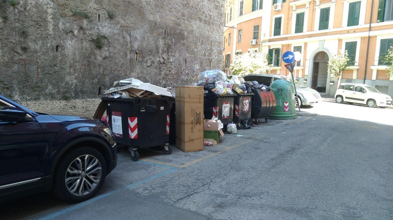 via annone rifiuti